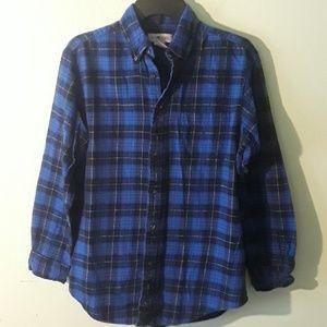 Sun River Clothing Co. Blue plaid shirt